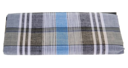 100% Cotton Handloom Mens Checkered Lungi / Dhoti / Sarong / Wrap bikini sarong wrap beach scarf
