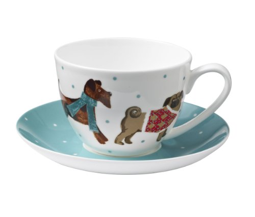 Ulster Weavers Hound Dog Bone China Cup and Saucer