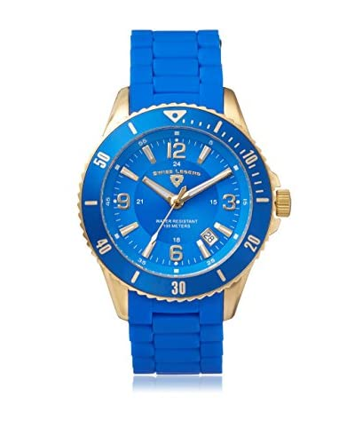 Swiss Legend Men's 93608-YG-33 Luminoso Analog Display Swiss Quartz Blue Watch