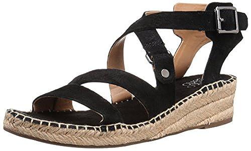 11. Franco Sarto Women's L-Lenah Espadrille Wedge Sandal