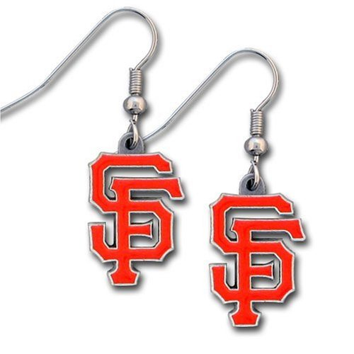 MLB San Francisco Giants Dangle Earrings at Amazon.com