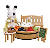 Sylvanian Families Juice Bar and Betty Blackberry Figure