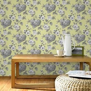 Home Of Colour - Nostalgia - Wallpaper - Pear Gre from New A-Brend