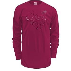 Soffe Alabama Crimson Tide Men's Long Sleeve T-Shirt Small