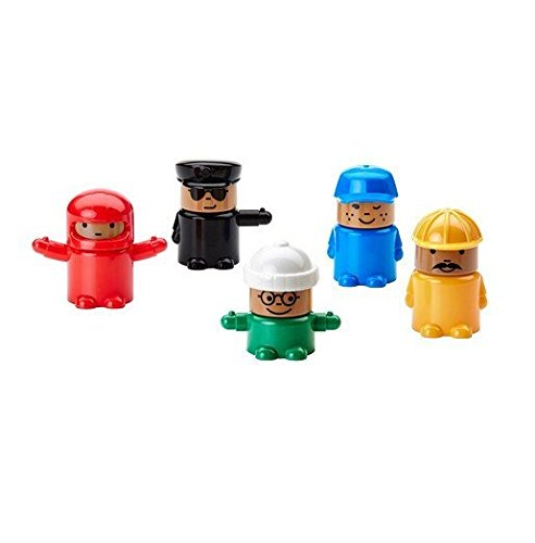 Lillabo Interchangeable Toy Figures / 5 Pack - Ikea