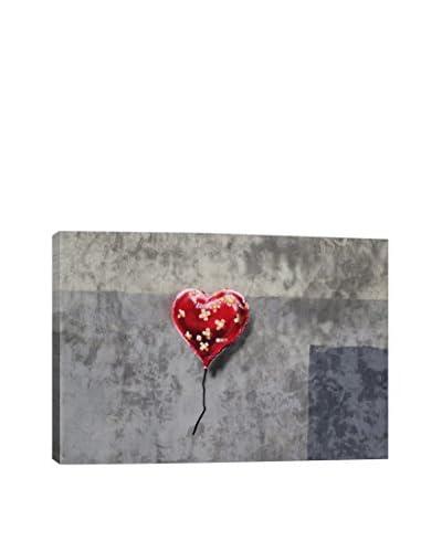 Banksy Bandage Heart (Full) Giclée On Canvas