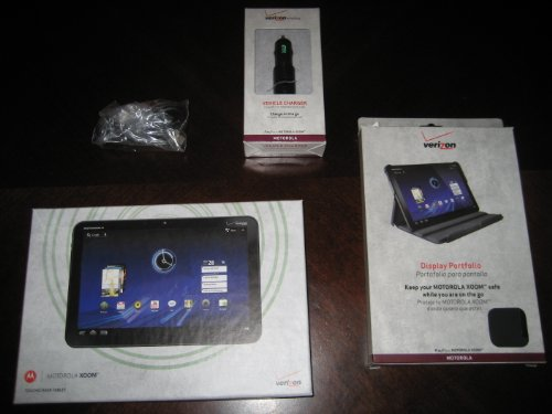 New Verizon Motorola XOOM Android Tablet Computer-32GB