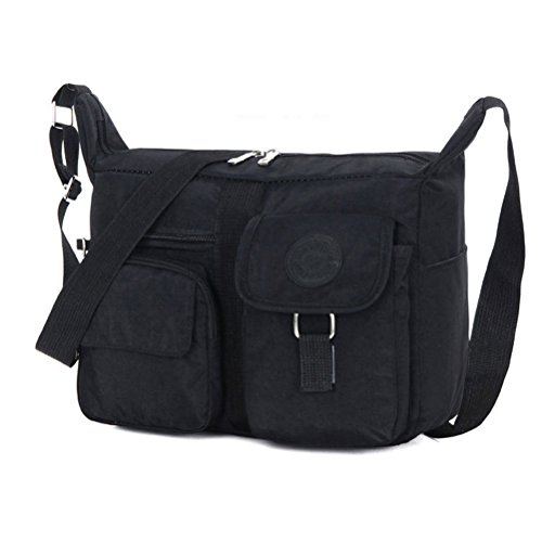 03. Fabuxry® Women's Shoulder Bags Casual Handbag Travel Bag Messenger Cross Body Nylon Bags