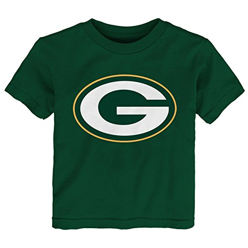 NFL Green Bay Packers Primary Logo Tee Hunter 3T Apparel