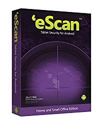 eScan Tablet Security for Android - 1 User, 3 Years  (Voucher)