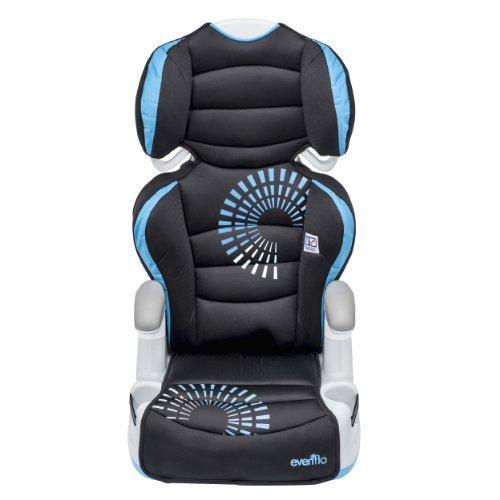 Review Evenflo Big Kid AMP Booster Car Seat, Sprocket