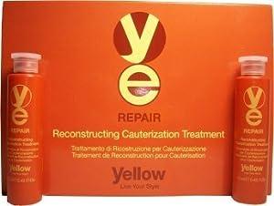 Yellow Repair Reconstructing Cauterization Treatment (Box: 6 Vials of 0.43 Oz.)