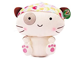 Cute Kitty Cat Plush Toy Doll Birthday and Christmas Gifts (White)