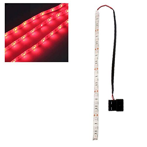 Red 60Cm 5050Smd Led Pc Computer Case Strip Light Self-Adhesive