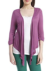 Only Women'S Casual Shrug (_5711295339700_Purple_Small_)