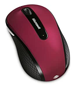 Microsoft Wireless Mobile Mouse 4000 Special Edition - Ruby Pink