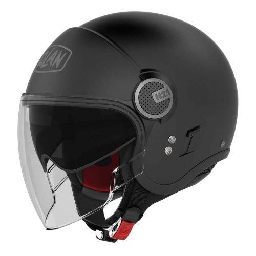Nolan n21 visor casque-noir mat
