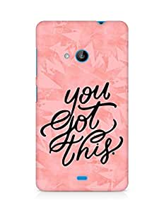 AMEZ you got this Back Cover For Microsoft Lumia 535