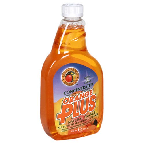 Earth Friendly Products Orange Plus Concentrated All Purpose Household Cleaner,  22 Ounces (Pack of 12)