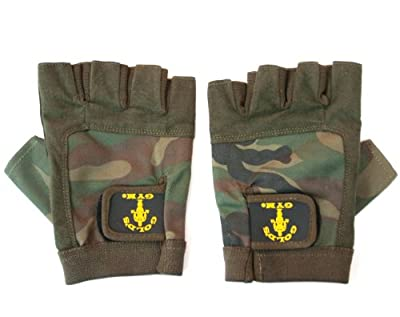 Golds Gym GG-G273 Camouflage Glove - Large by Golds Gym