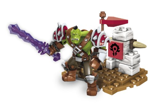 Mega Bloks World of Warcraft Ragerock (Horde Orc Warrior) - 1