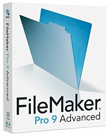 FileMaker Pro Advanced - (V. 9.0) - Complete Package - 1 User - CD - Win, Mac - English (30092G) Category: Software Suites