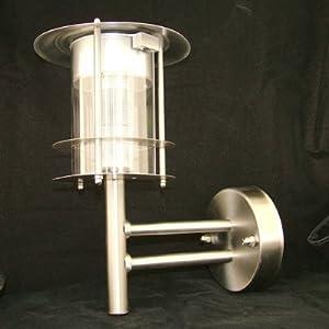 twin s steel outdoor wall mount solar lantern lights