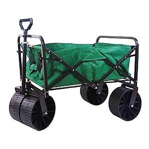 3.5 cu. ft. 21 in. W Steel Folding Wagon
