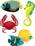 Amscan International Cutouts Tropical Fish Assorted Hawaiian