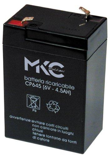 Melchioni Batterie au PloMB 6 V 4 a