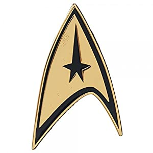 Star Trek Original Series Command Chest Insignia Pin