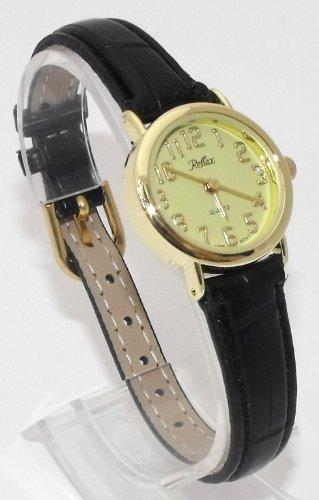 Ladies/Womens New Reflex Watch-Gold Case (25mm) Yellow Dial - 18cm Strap (101113LT)