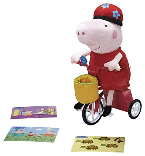 Peppa Pig - Peppa y su bicicleta (Bandai 84539)