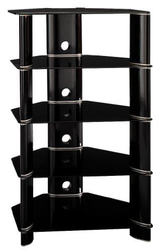 Cheap Audio Tower – Segments Collection – Bush Furniture – AD11840-03 (AD11840-03)