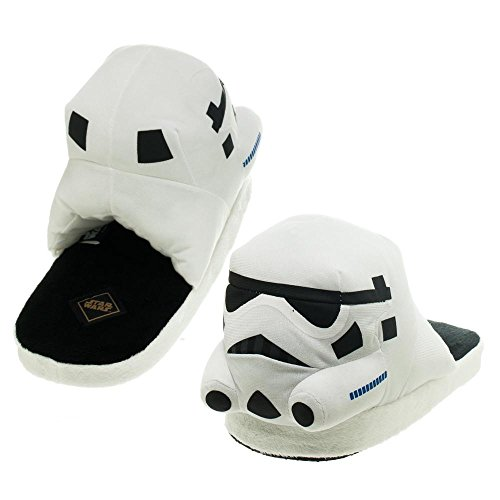 Star Wars Stormtrooper Adult Slippers (Large)
