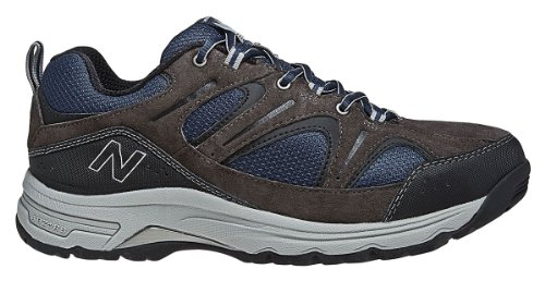 New Balance Men's MW759 Country Walking Shoe,Grey/Blue,11 4E US