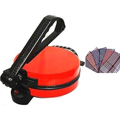 NON-STICK RED ROTI MAKER WITH ROTI CLOTH