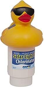 GAME 8002 Lampe solaire en forme de canard Chlorinateur de billard