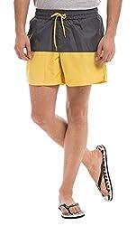 Prym Men's Polyester Shorts (8907423002609_2011517401_30_Grey)