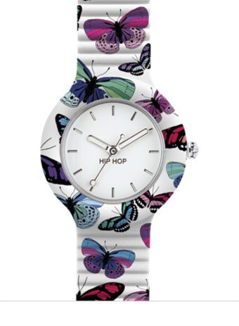 orologio cinturino orologio donna Hip Hop casual cod. HWU0675
