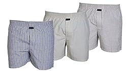 Careus Men's Cotton Boxers (Pack of 3)(15_16_18_Multi-coloured_X-Large)
