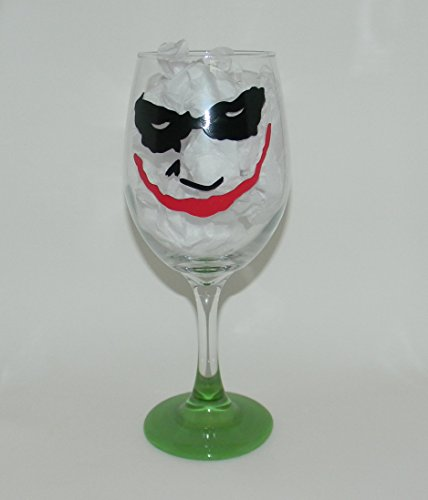 Joker wine glass (Batman Wine Glass compare prices)