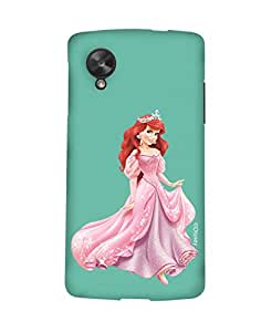 Pick Pattern with Exclusive DISNEY Characters Back Cover for LG Google Nexus 5