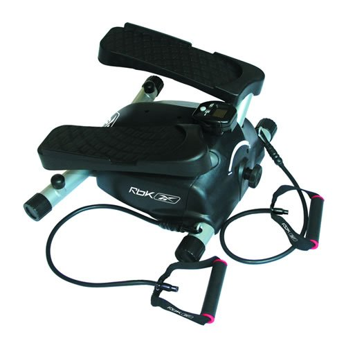 Reebok REM-G7580 Mini Side Stepper with Resistance Tubes