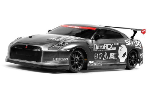 Exceed RC 2.4Ghz MadSpeed Drift King Edition 1/10 Electric Ready to Run Drift Car (Grey) **Battery Charger NOT INCLUDED**