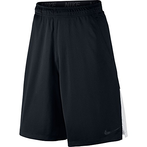 New Nike Men's Hyperspeed Knit Shorts Tumbled Black/White/Black X-Large