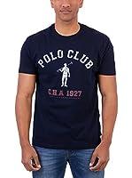 Polo Club Camiseta Manga Corta Rigby 1927 Tshirt (Azul Marino)
