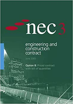 Nec3 engineering and construction contract option b for B b contract