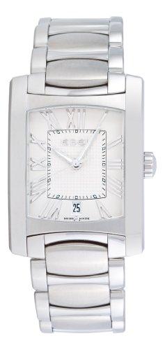 Ebel Men's 9255M41/62500 Brasilia Silver Roman Numeral Dial Watch