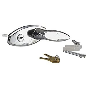 L-Handle With Lock, Blind Mount